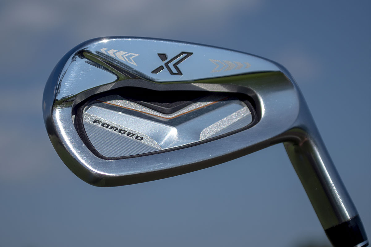 A photo of the XXIO forged iron