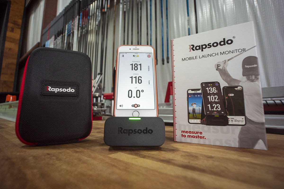 Rapsodo MLM launch monitor