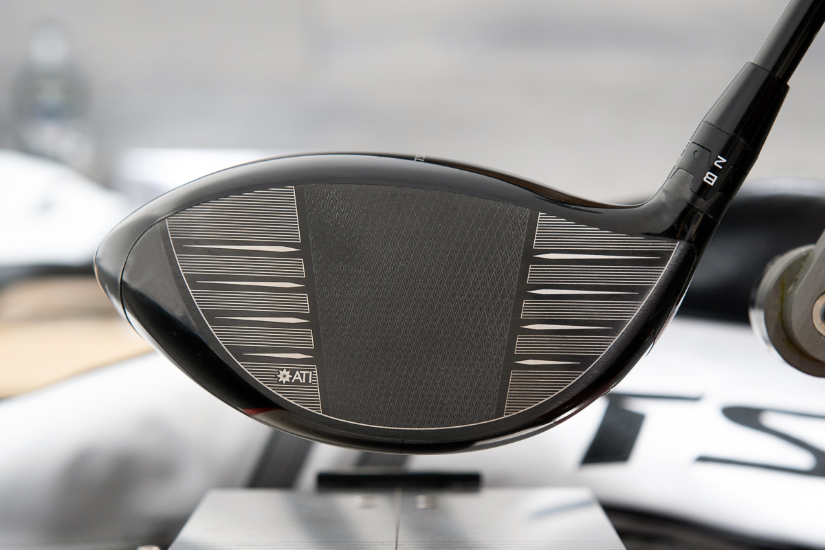 The ATI face on the Titleist TSi2 Driver