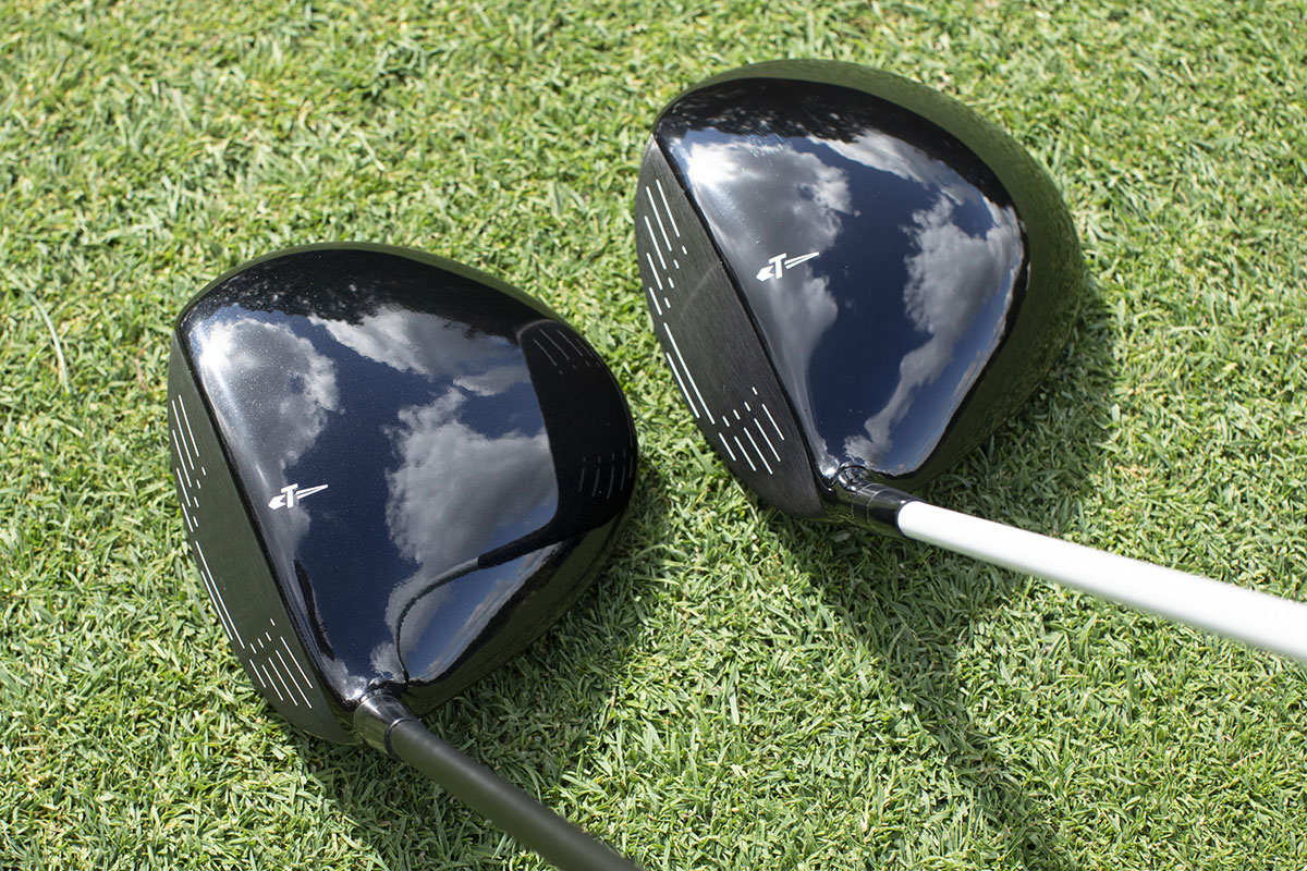 a crown view of Tour Edge Hot Launch 521 Drivers