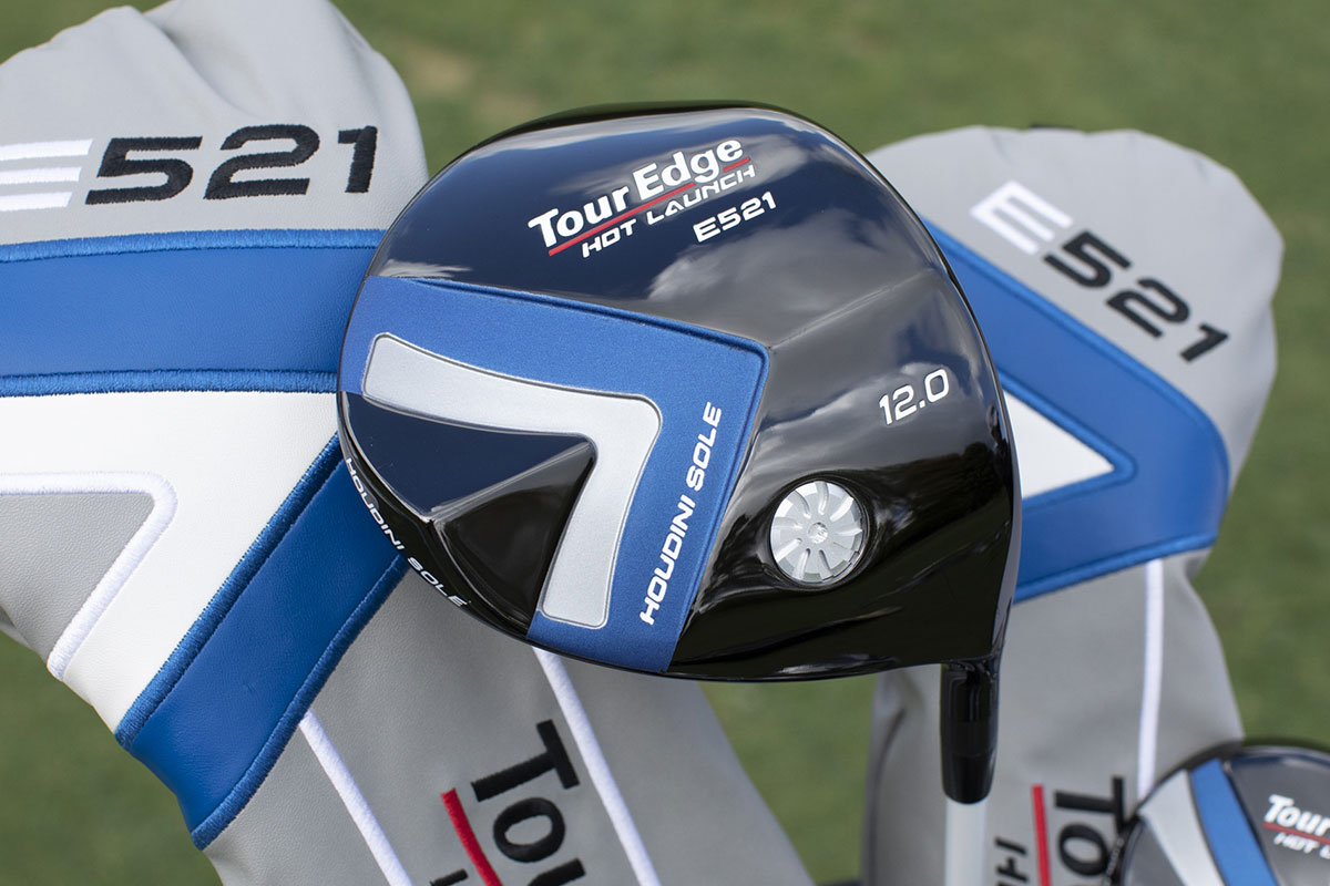an image of the tour edge hot launch e521 driver
