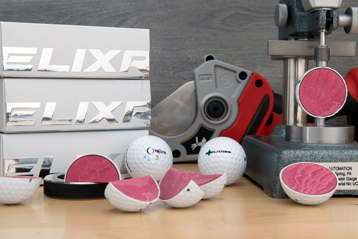 a photo of OnCore ELIXR golf balls