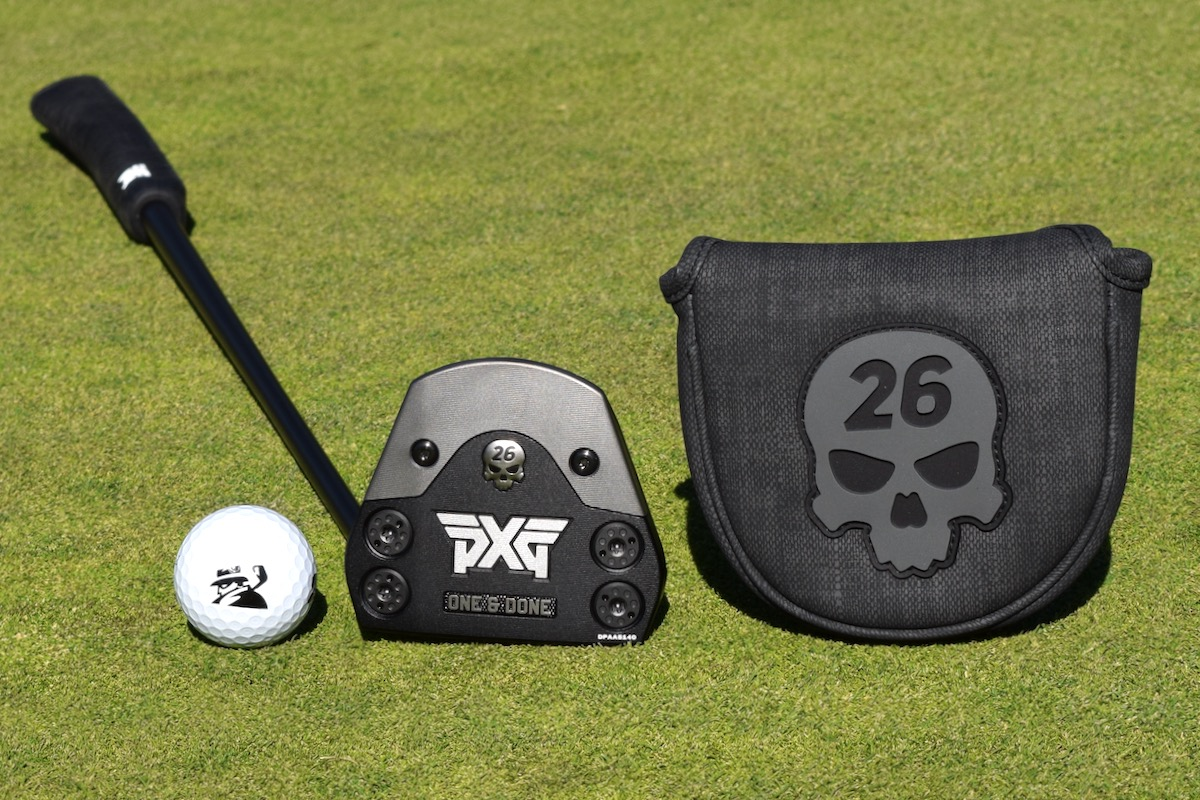 PXG One and Done Putter head cover