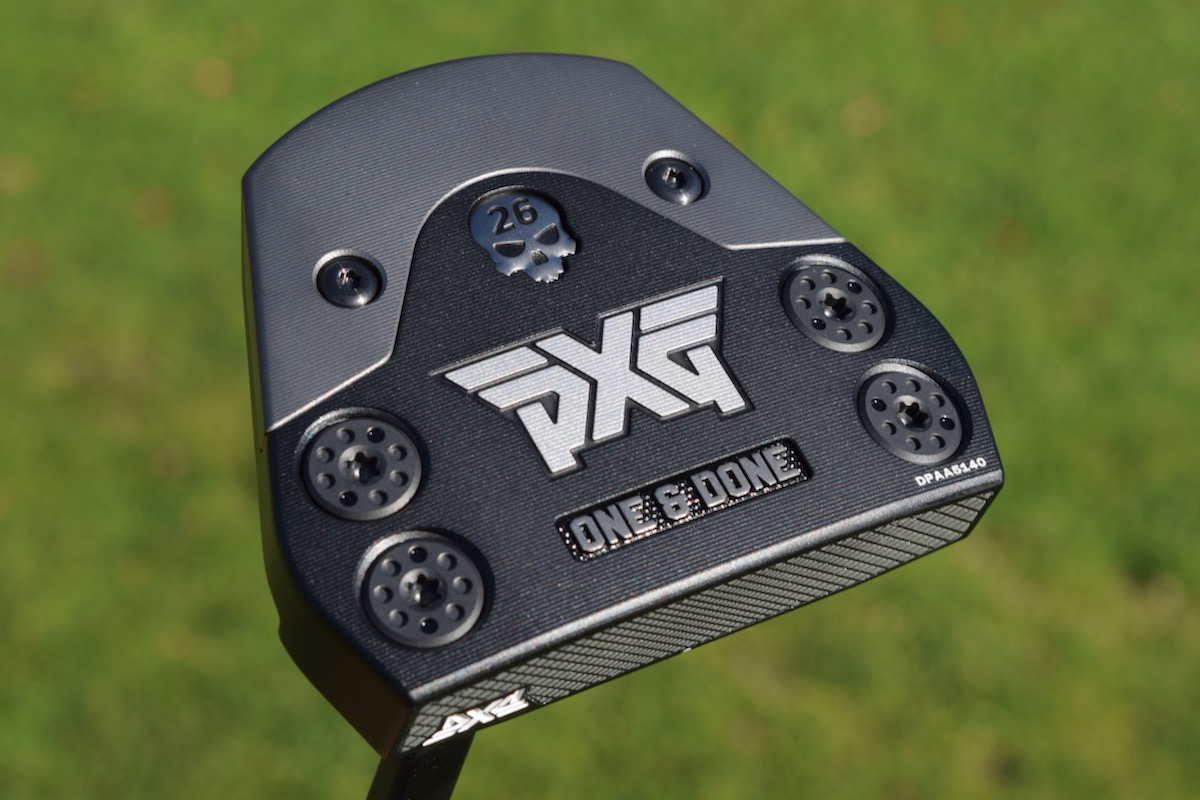 PXG One and Done Putter bottom