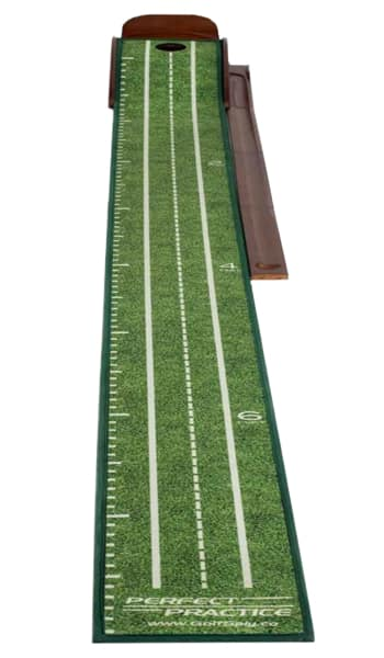 A Perfect practice mat, one of the best indoor putting mats