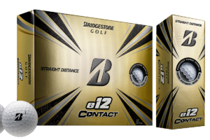 Bridgestone e12 Contact Golf Ball with Contact Force Dimples