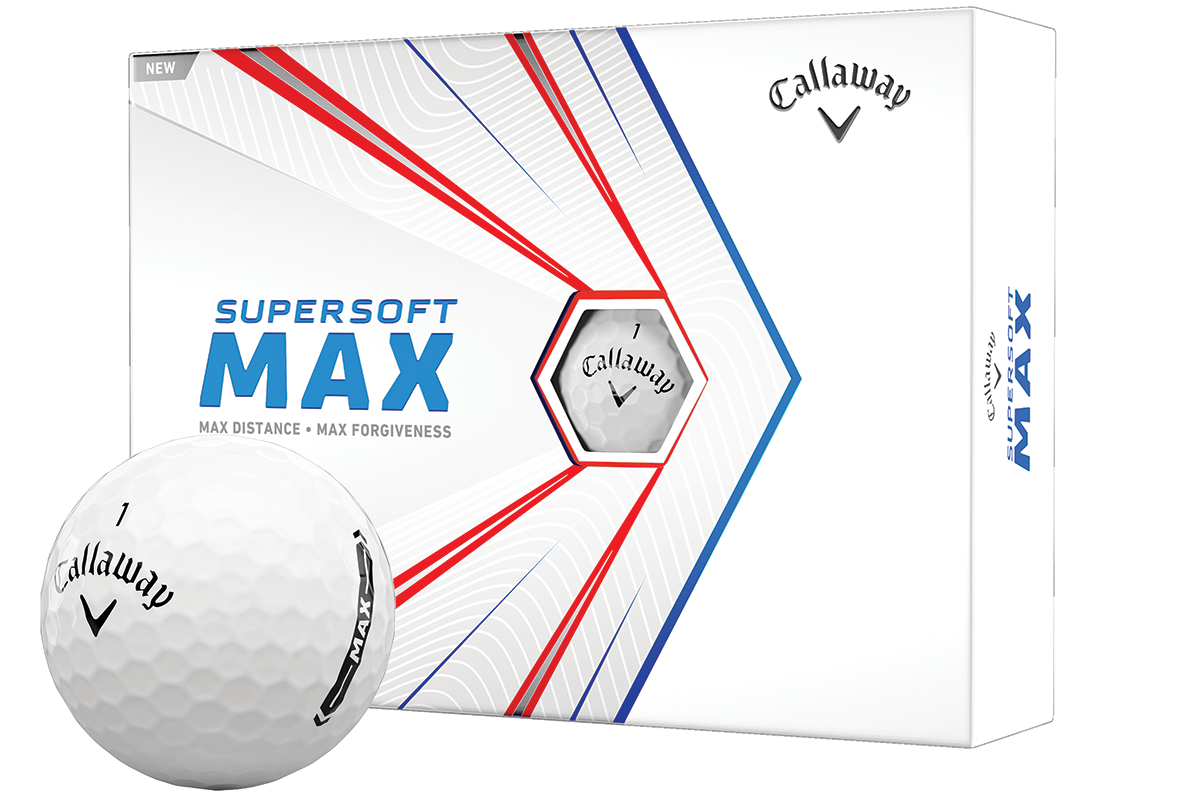 The Callaway Supersoft MAX Golf ball