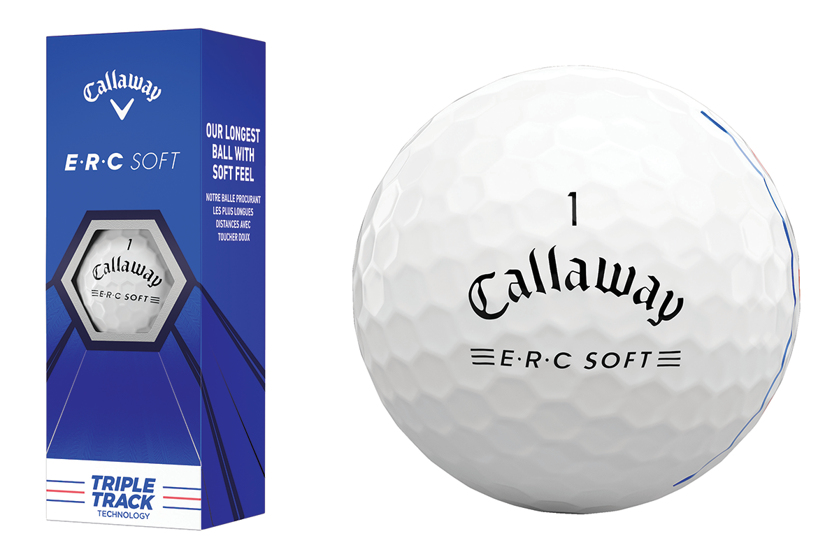 The new Callaway Golf ERC Soft Golf Ball