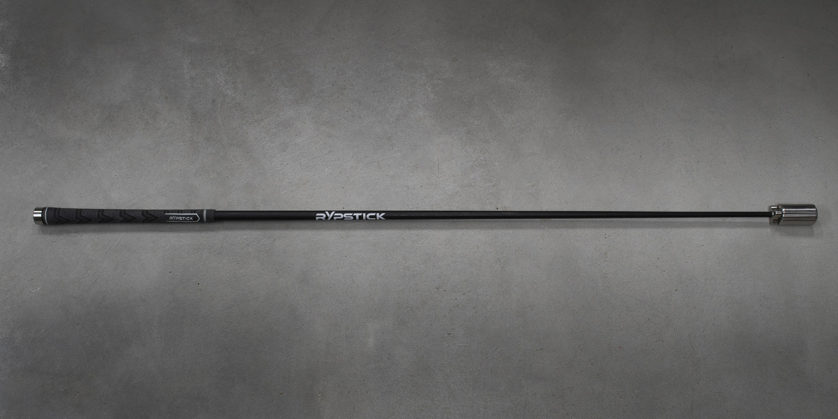 An image of the Rypstick golf speed swing trainer