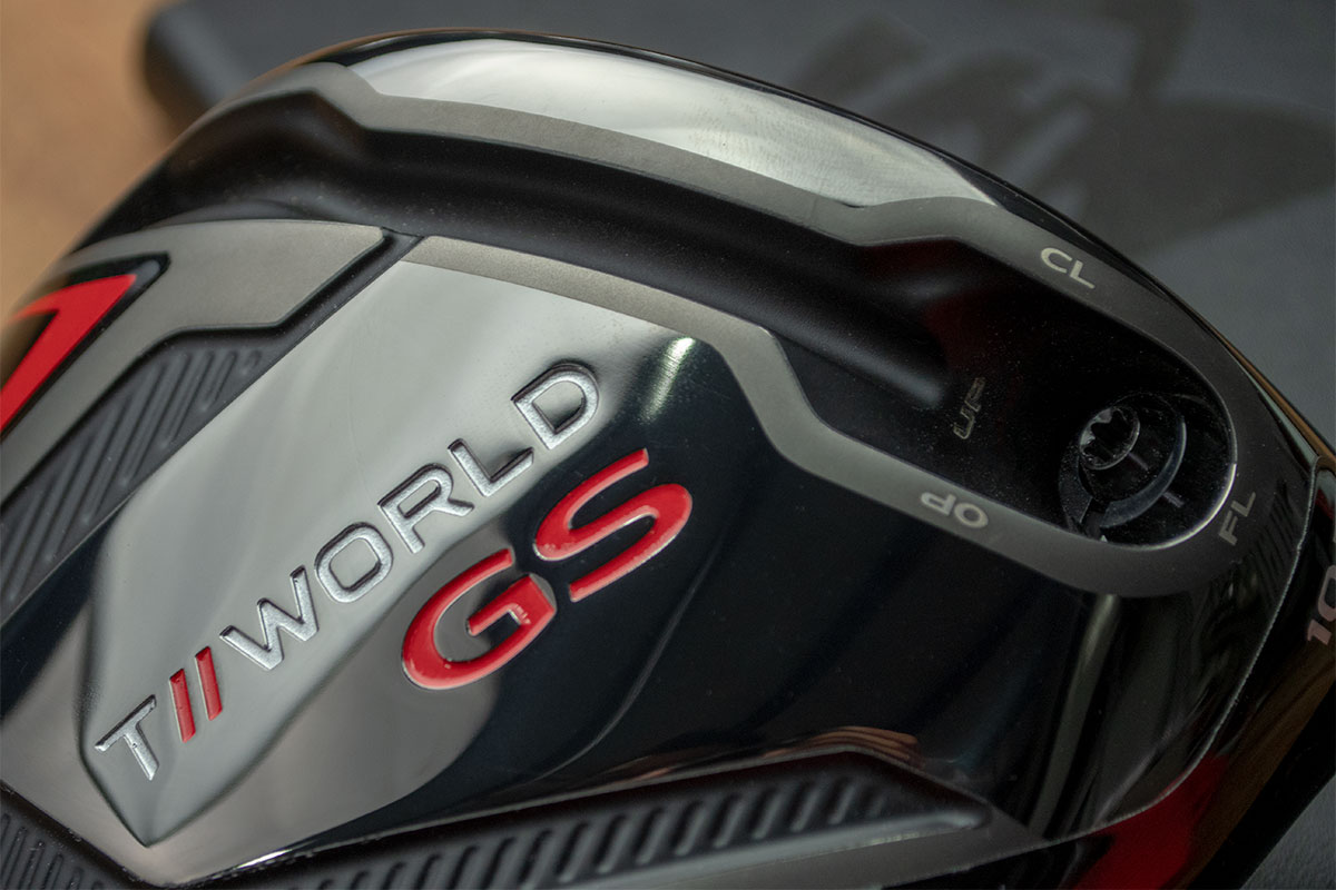 the flip slot of the Honma T//World GS Driver