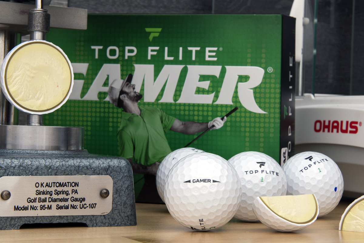 An image showing Top Flite Gamer Golf Balls