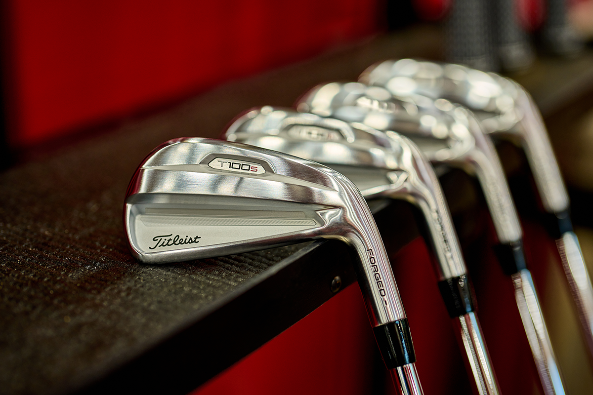 a photo of Titleist T-series T100S Irons