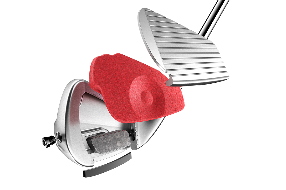An image showing the construction of the 2021 TaylorMade P790 Iron